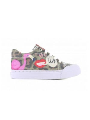 Go Banana's Sneakers GB_FLAMINGO-L Roze / Bruin