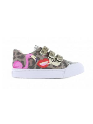 Go Banana's Sneakers GB_FLAMINGO-V Roze / Bruin