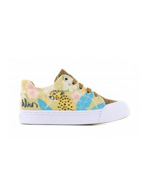 Go Banana's Sneakers GB_LEOPARD-L Beige