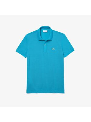 Lacoste Slim Fit Polo PH4012-HDB Blauw