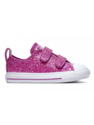 Converse All Stars Kids Party Dress 762346C Roze