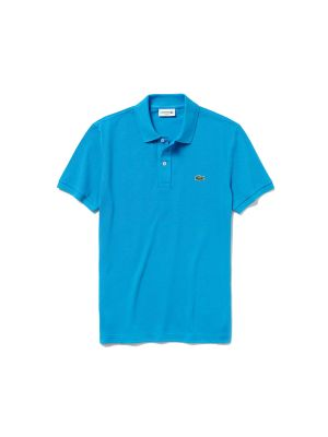 Lacoste Slim Fit Polo PH4012-PTV Blauw
