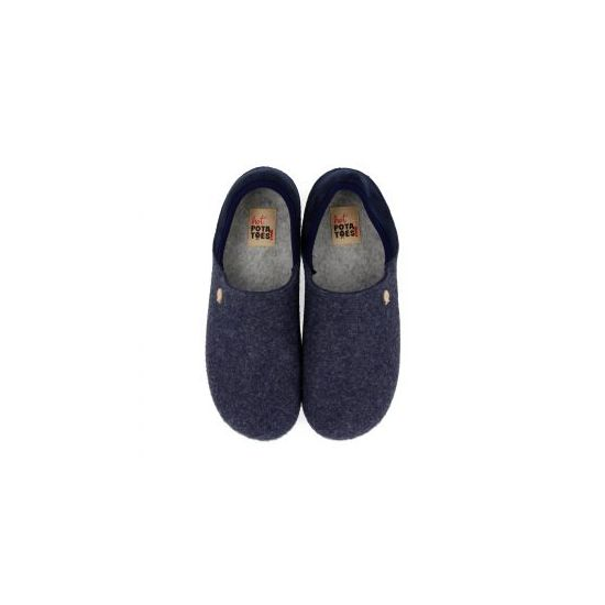 Hot Potatoes Pantoffels Orsk 61073 Blauw
