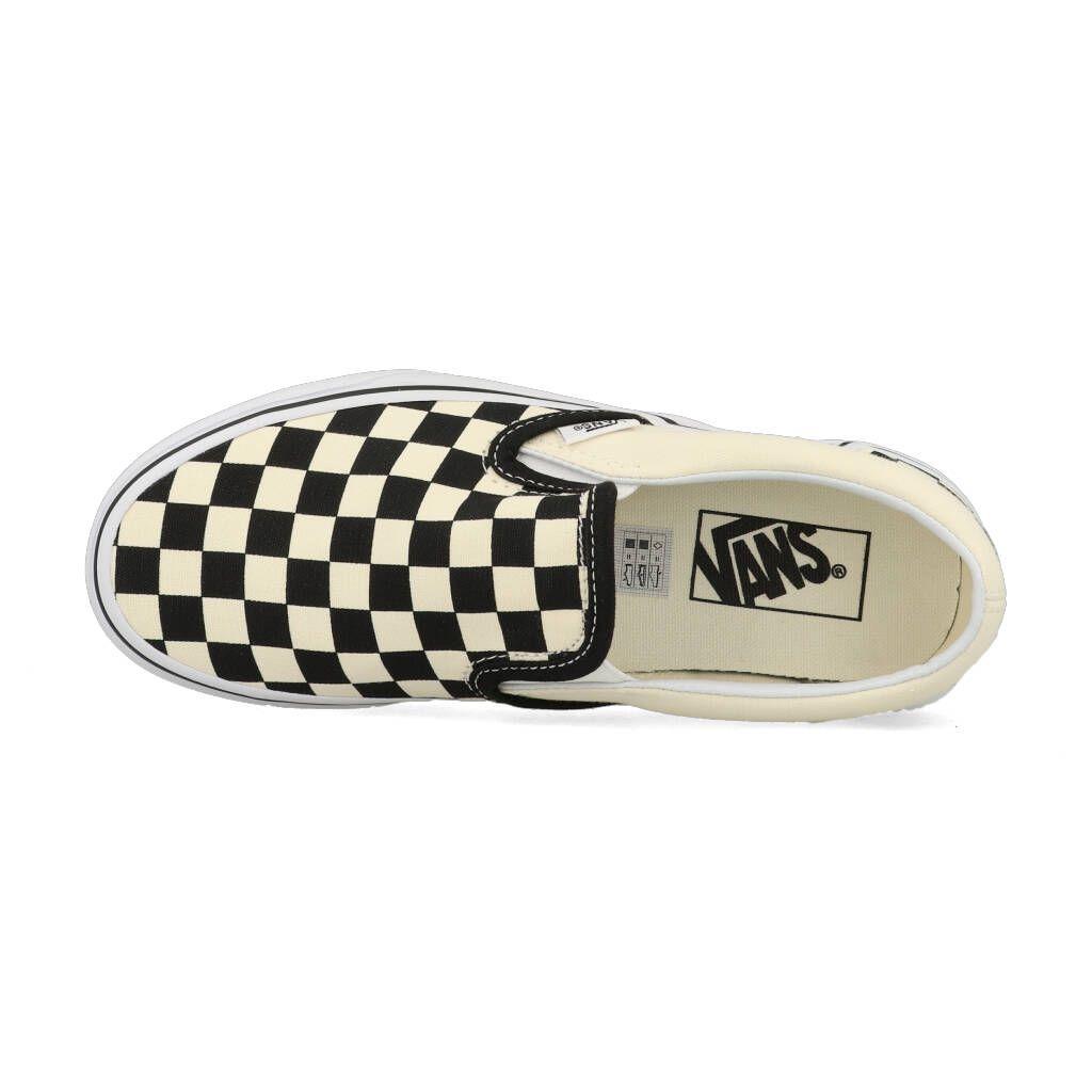 Vans Classic Slip On Checkerboard VN000EYEBWW1 Zwart Wit