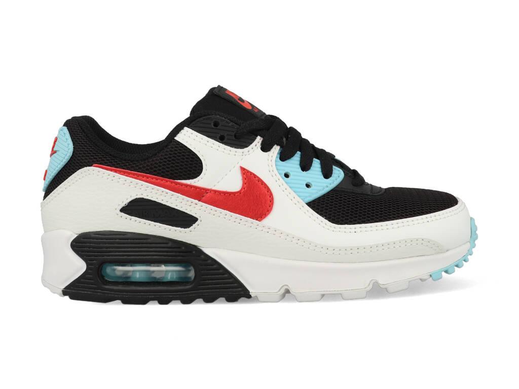Nike Air Max 90 DA4290-100 Wit - Zwart-37.5 maat 37.5