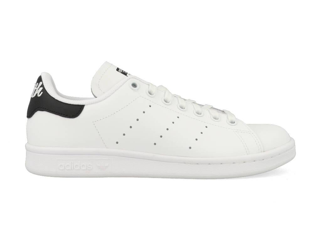 Adidas Stan Smith J EE7570 Wit - Zwart-37 1/3 maat 37 1/3