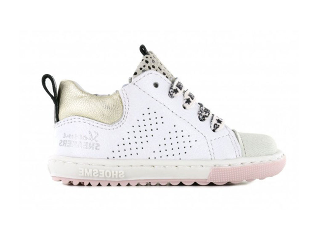 Shoesme Sneakers EF21S012-E Wit-24 maat 24