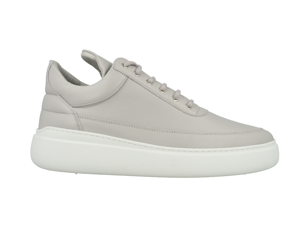 Filling Pieces Low Top Angelica Matt Nappa Grey maat