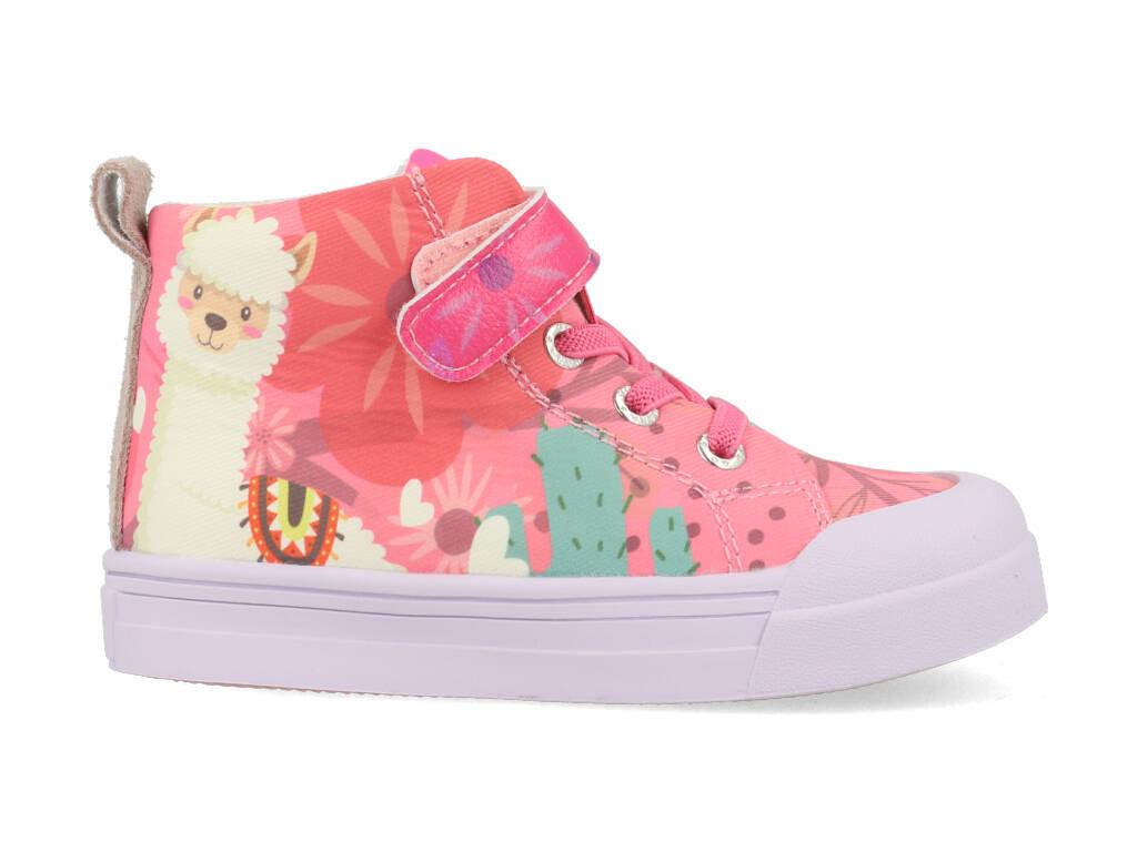 Go Banana's Sneakers GB-ALPACA-H Roze-24 maat 24