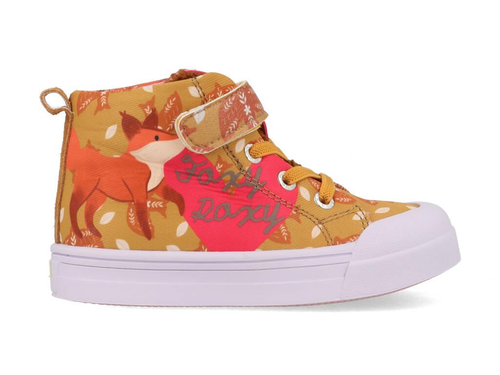 Go Banana's Sneakers GB-FOXYROXY-H Oranje / Roze-24 maat 24