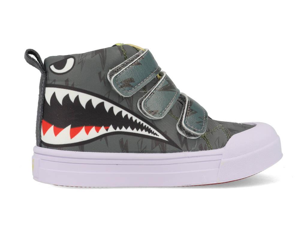 Go Banana's Sneakers GB-SHARKY-V Grijs-24 maat 24