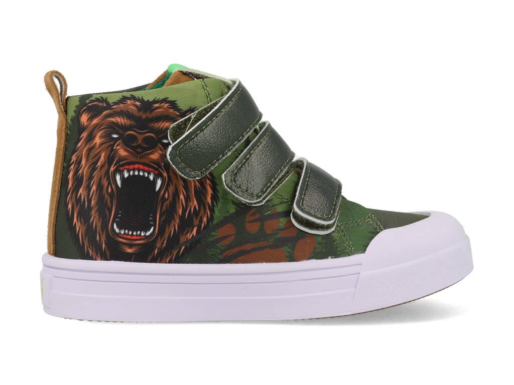 Go Banana's Sneakers GB-BEARYCOOL-V Groen-25 maat 25