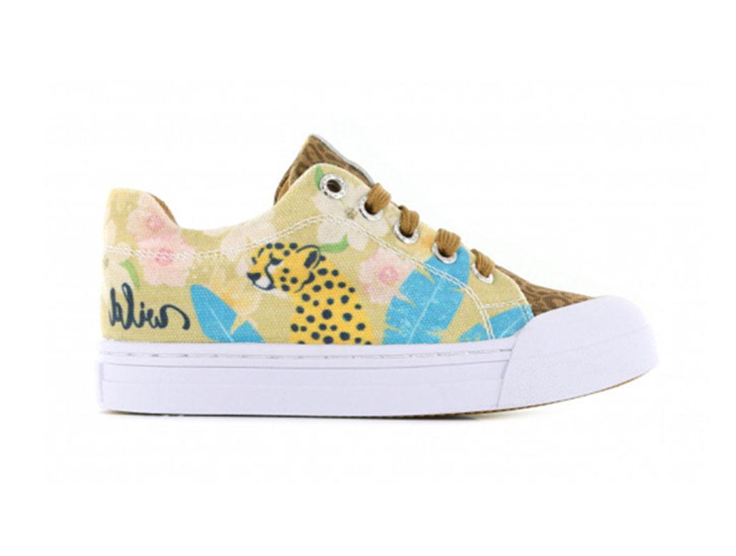 Go Banana's Sneakers GB_LEOPARD L Beige