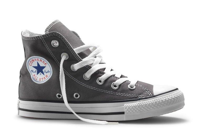 Converse All Stars Hoog Grijs