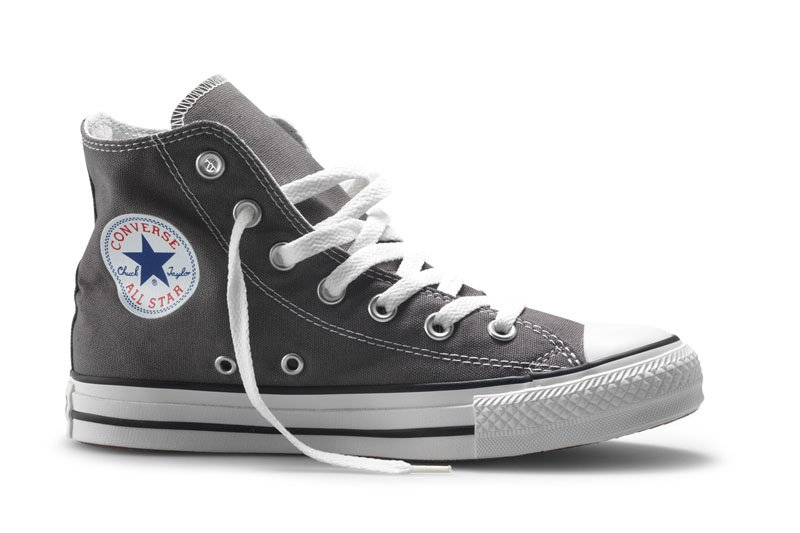 Converse All Stars Hoog 1J793C Grijs-41.5 maat 41.5