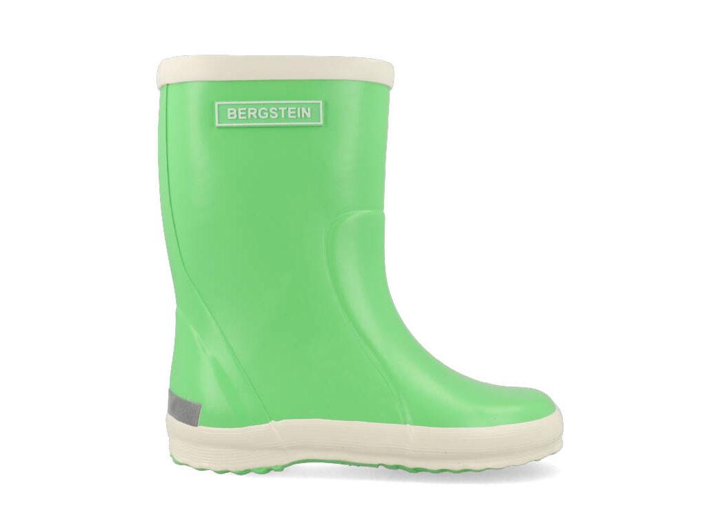 Bergstein Regenlaarzen K130001-592110592 Lime Groen-28 maat 28
