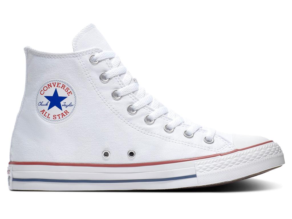 Converse All Stars Hoog M7650C Wit-45 maat 45