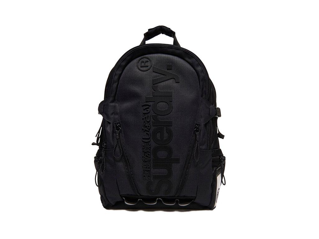 Superdry Rugzak Line Tarp Backpack M91009MR Zwart maat