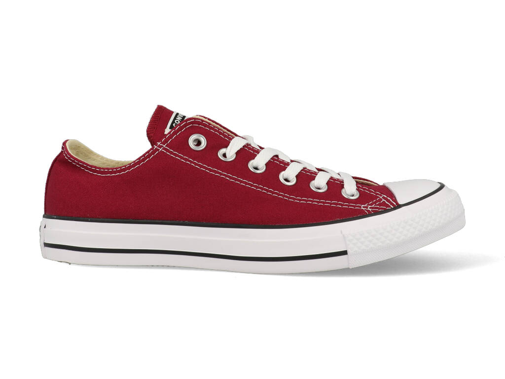 Converse All Stars Laag Bordeaux Rood