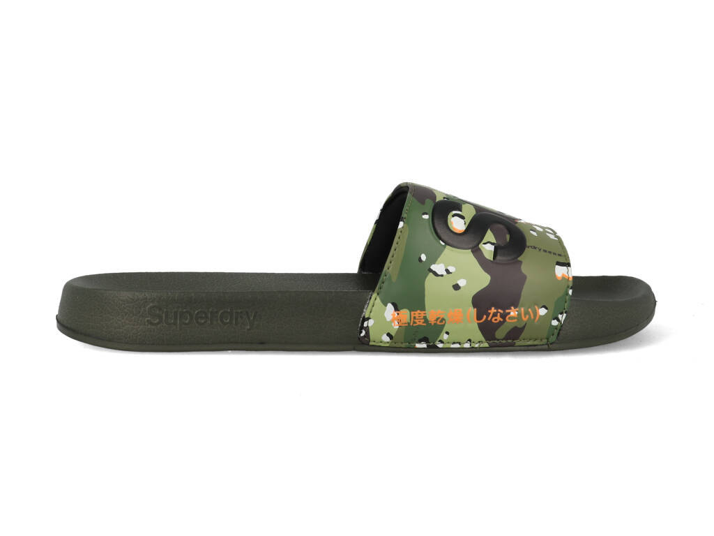 Superdry Slippers MF300004A F28 Groen