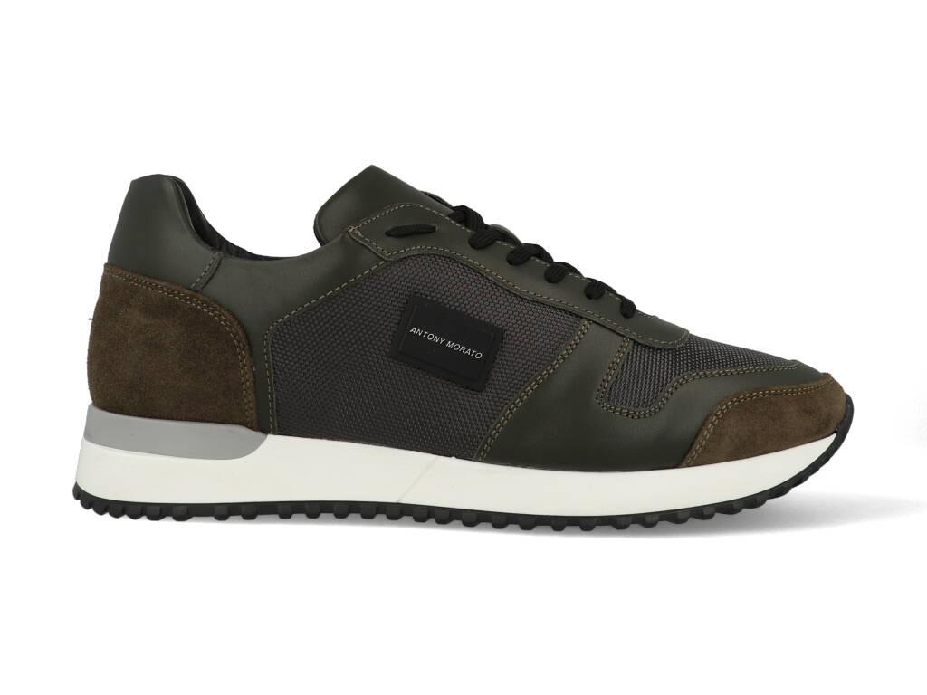 Antony Morato Sneakers MMFW01219-LE500019 Military Green maat