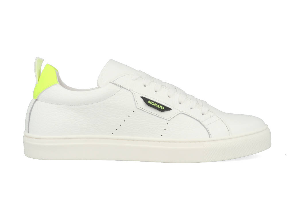 Antony Morato Sneakers MMFW01247-LE300002 Wit - Geel-42 maat 42