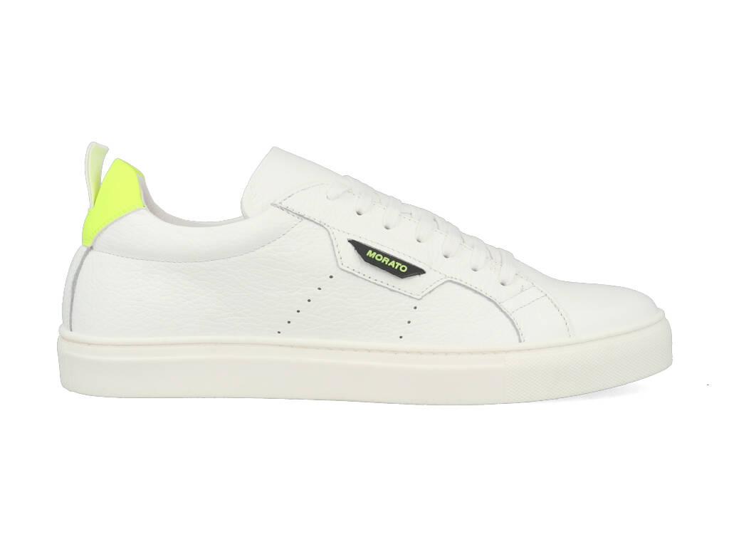 Antony Morato Sneakers MMFW01247-LE300002 Wit - Geel-45 maat 45