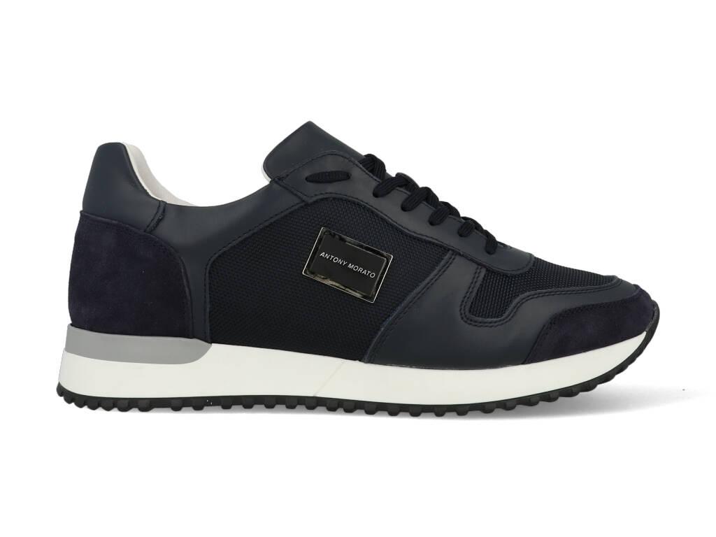 Antony Morato Sneakers MMFW01278-LE500019 Blauw-42 maat 42