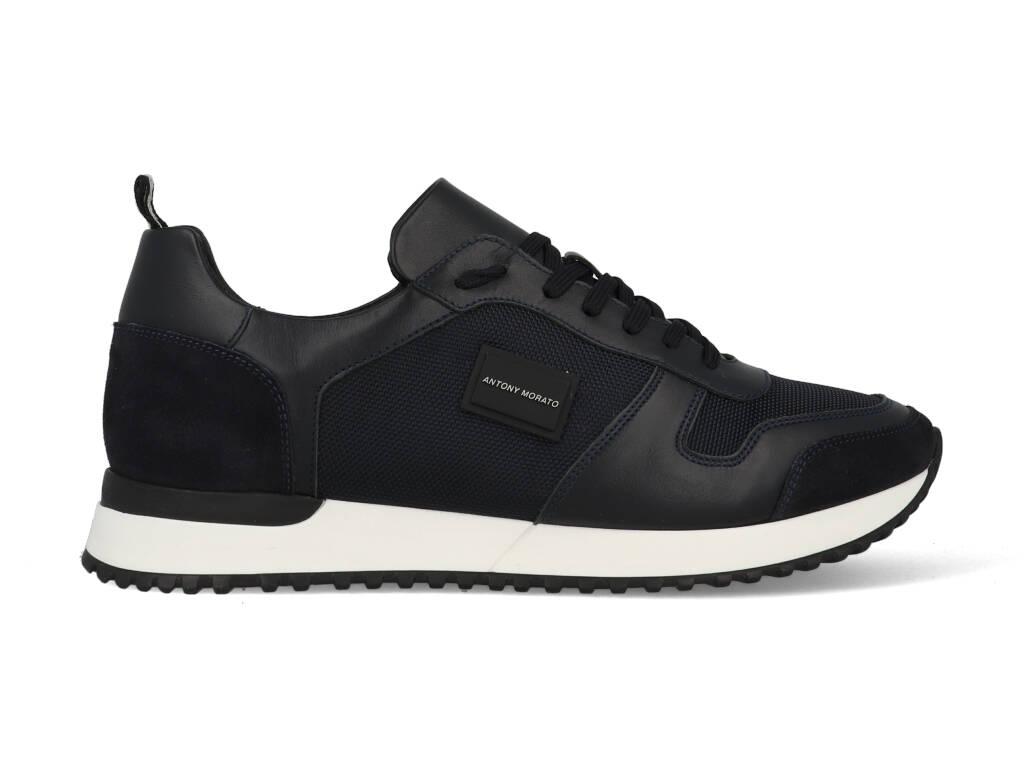 Antony Morato Sneakers MMFW01310-LE500019 Blauw-45 maat 45