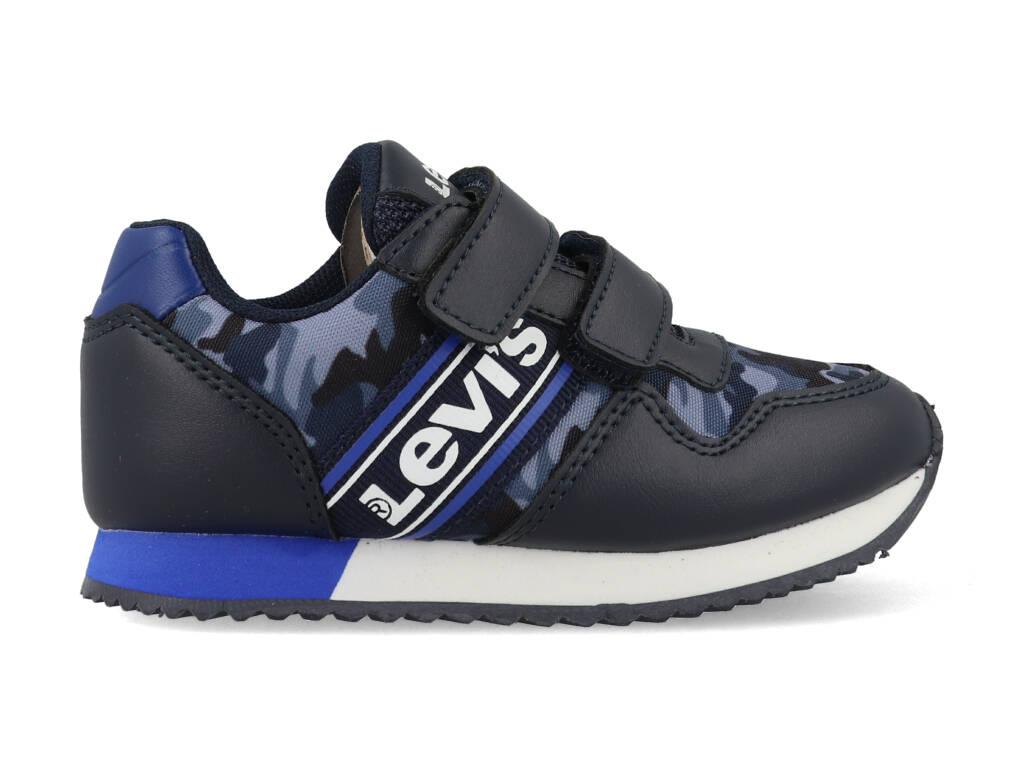 Levi's Sneakers NEW SPRINGFIELD MINI VSPR0062T Blauw maat