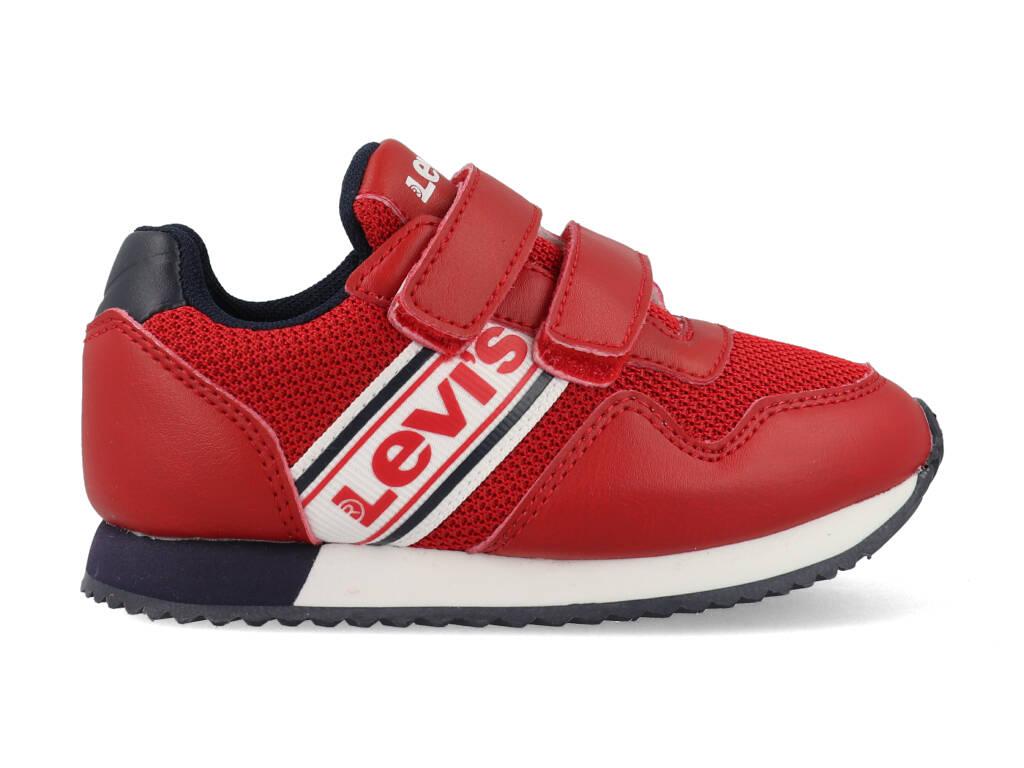 Levi's Sneakers NEW SPRINGFIELD MINI VSPR0062T Rood / Blauw-25 maat 25