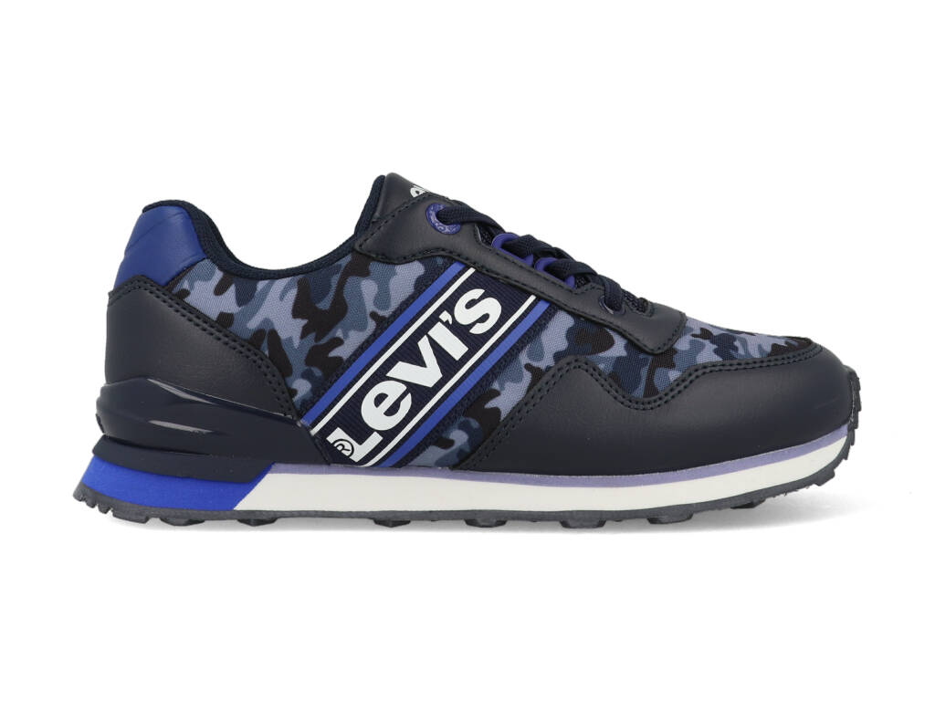 Levi's Sneakers NEW SPRINGFIELD VSPR0060T Blauw maat