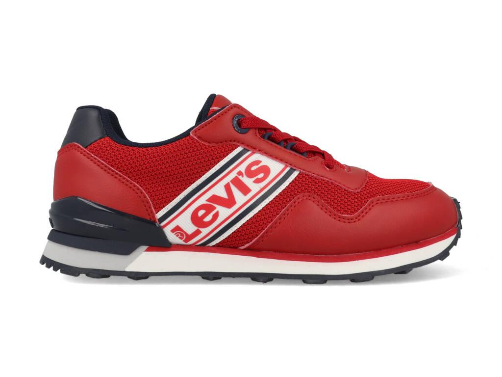 Levi's Sneakers NEW SPRINGFIELD VSPR0060T Rood / Blauw maat