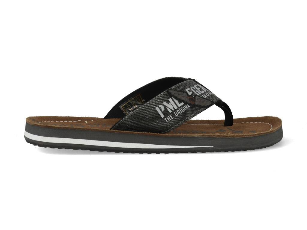 PME Legend Slippers Hinger PBO213020-999 Zwart maat