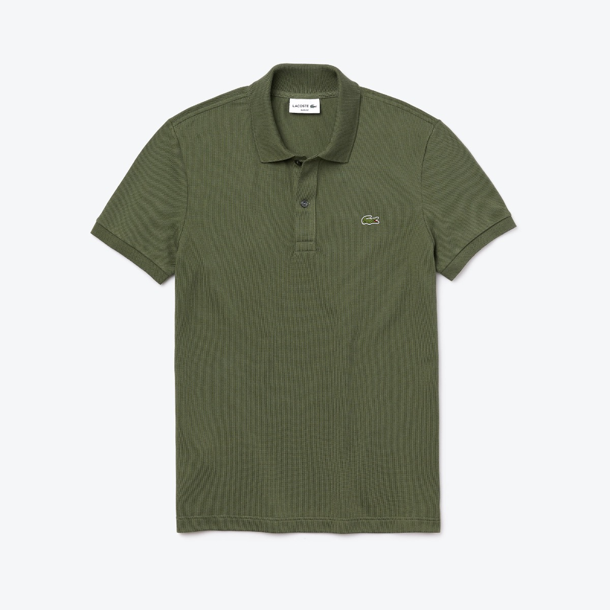 Lacoste Slim Fit Polo PH4012-XZD Khaki Groen maat