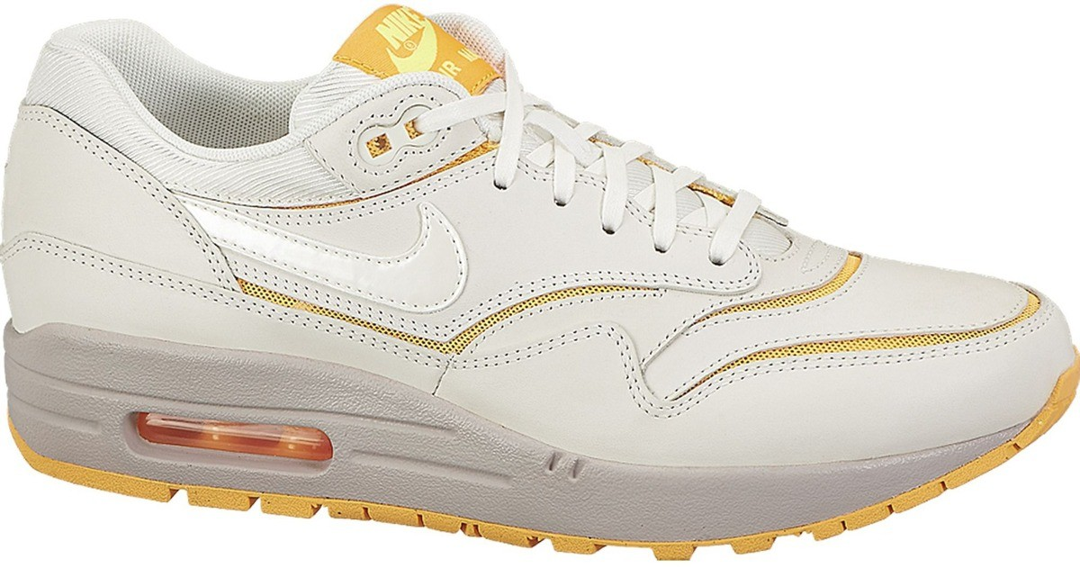 Nike Air Max 1 Premium Cut Out Creme 644398-100