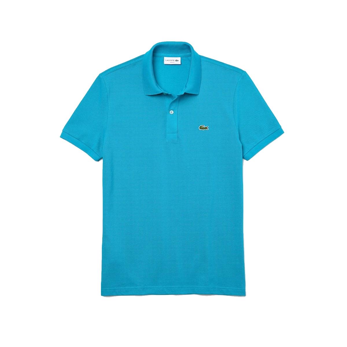 Lacoste Slim Fit Polo PH4012-HDB Blauw maat