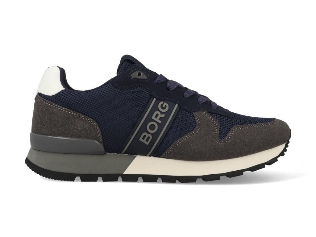 Björn Borg Sneakers R455 BLK 7303 Blauw / Grijs-40 maat 40