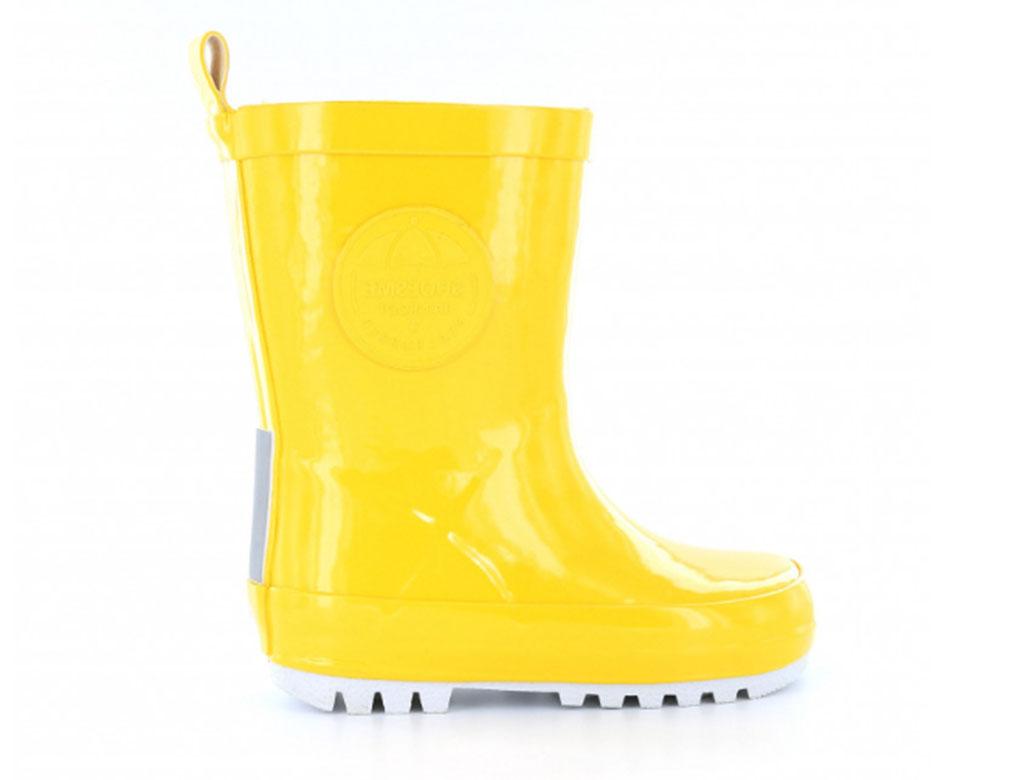 Shoesme Regenlaarzen RB7A092-C Geel maat