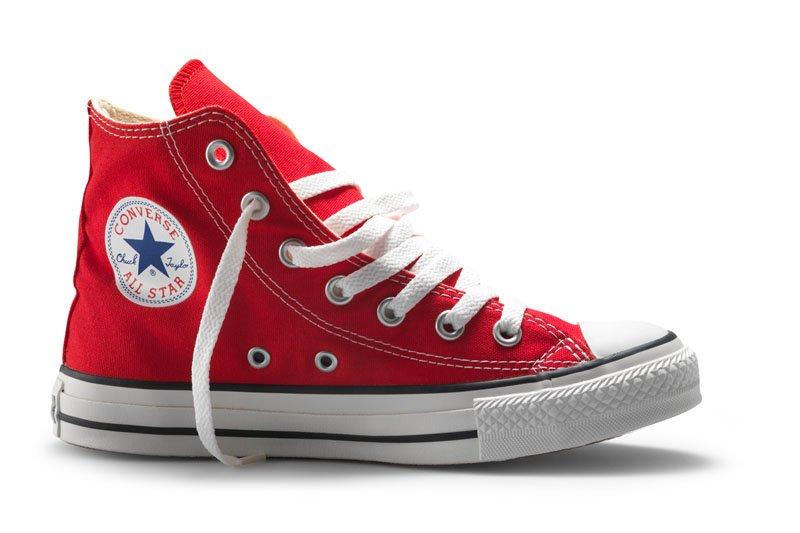 Converse All Stars Hoog Rood maat