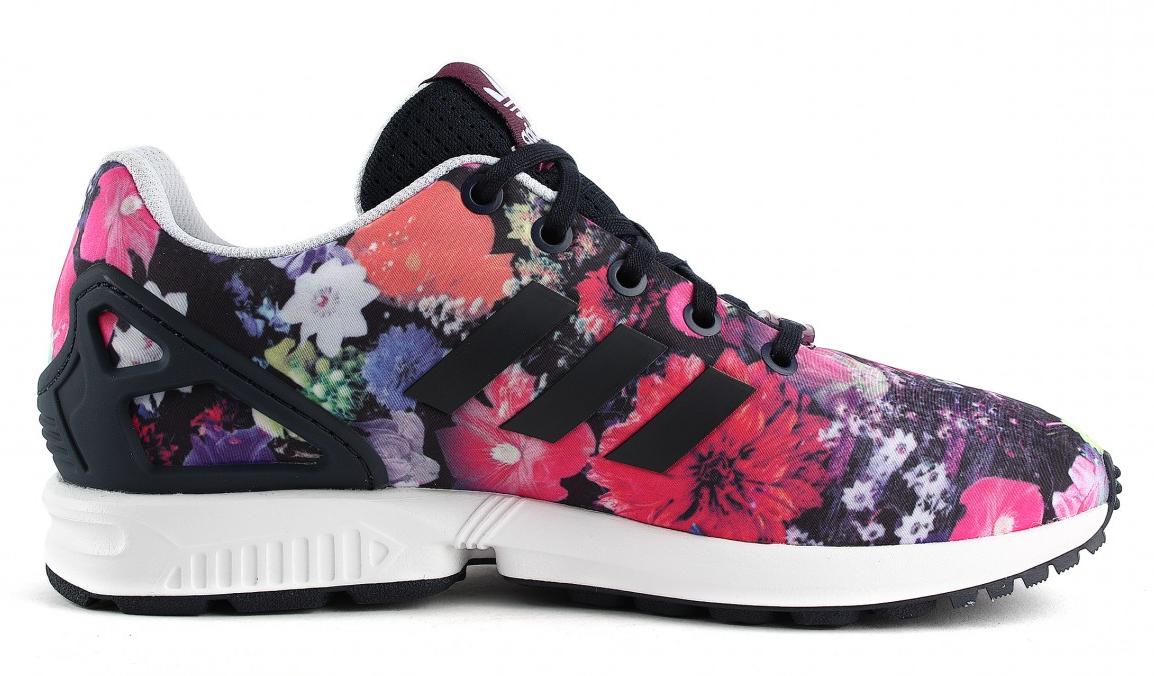 Adidas Originals ZX Flux Paars S74959 Bloemen