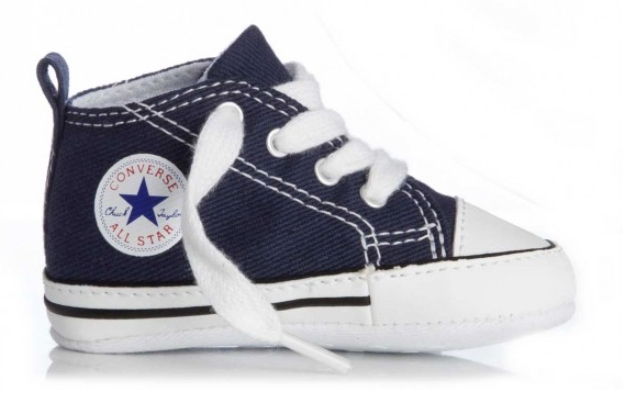 Converse First Star 88865 Navy Blauw maat