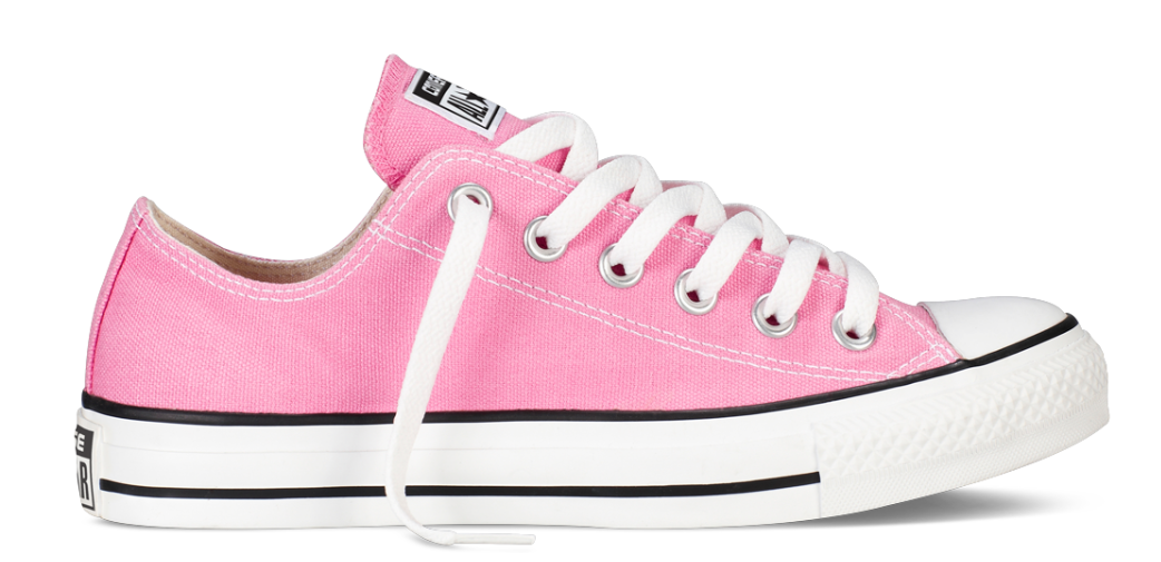 Converse All Stars Laag Roze
