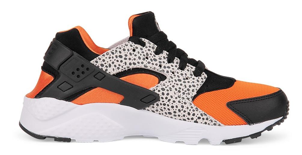 Nike Huarache Grijs Oranje