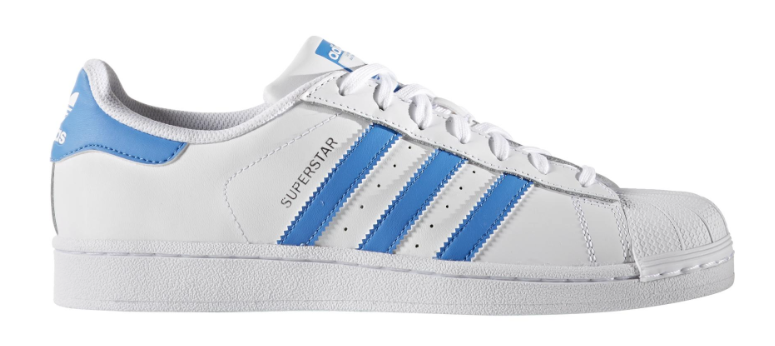 Dagaanbieding - Adidas Superstar Originals S75929 Blauw / Wit-37 1/3 dagelijkse koopjes