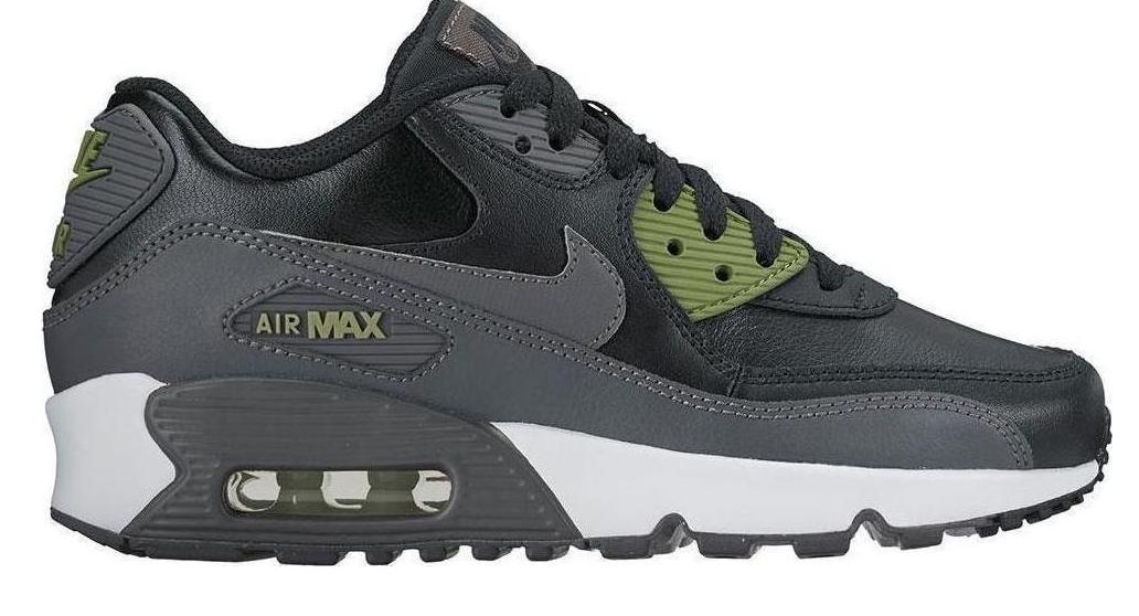 Nike Air Max 90 LTR GS 833412-008 Zwart Grijs