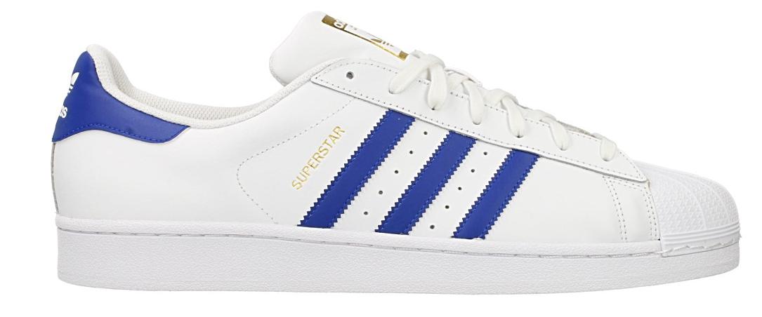 Adidas Superstar Foundation B27141 Wit Blauw