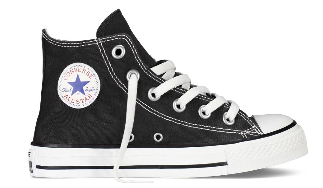 Converse All Stars Hoog Kids 7J231C Zwart