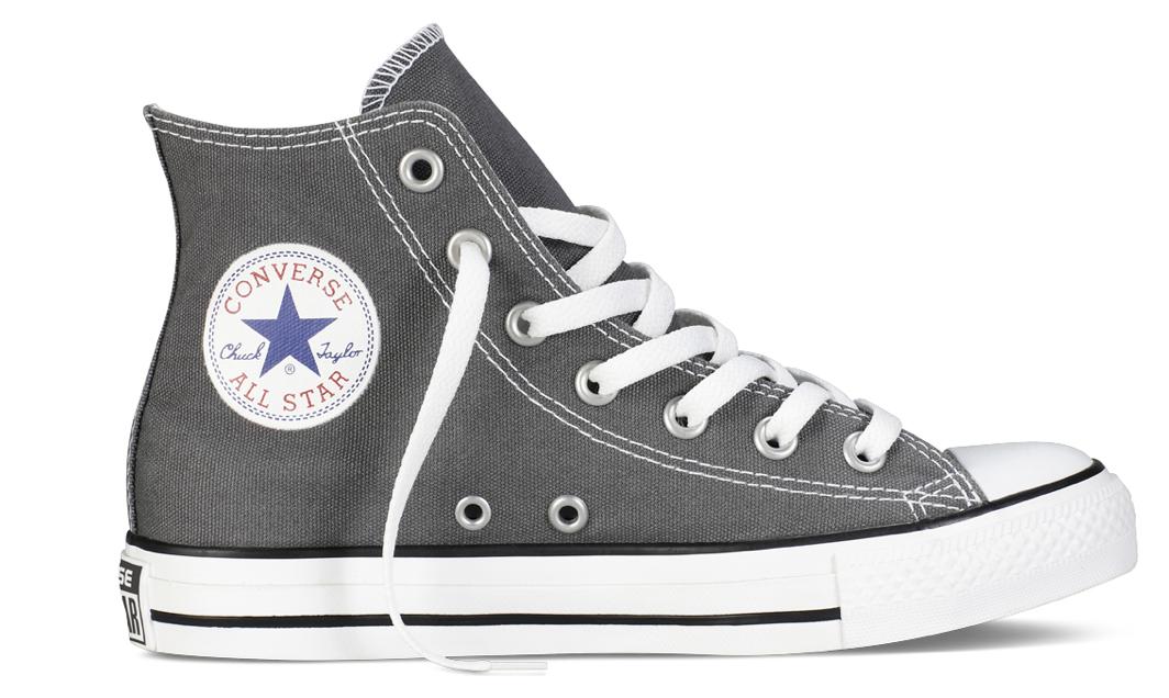 Converse All Stars Hoog Kids 7J793C Grijs maat