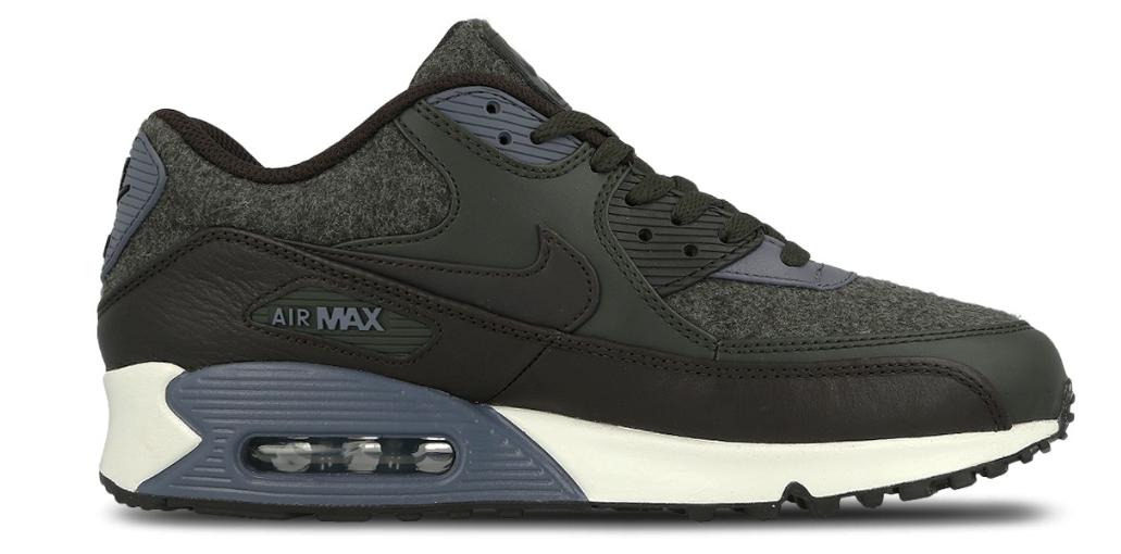Nike Air Max 90 herensneaker zwart